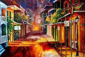 twilight in New Orleans fa