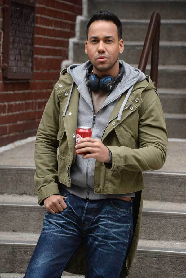 Romeo Santos is a spokesperson for Dr. Pepper ads
