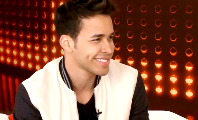 "Prince Royce is a judge on singing competition television show ""La Voz Kids"""