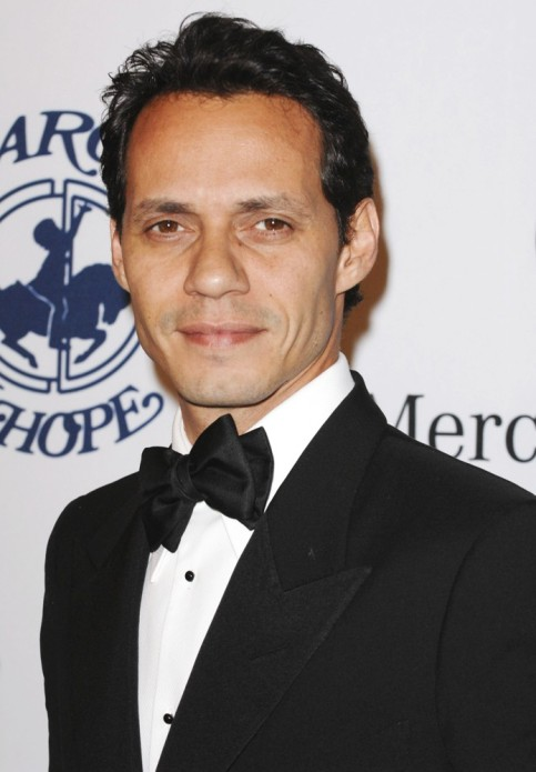 Salsa singer Marc Anthony