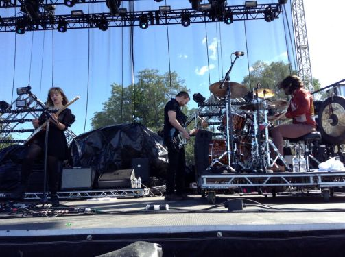 The Joy Formidable Interview - Riot Fest Chicago 2015