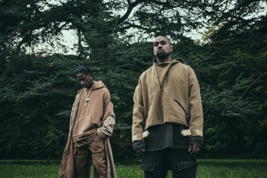 travis scott x kanye west - piss on your grave