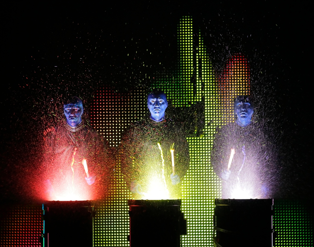Blue Man Group National Tour | Credit photo: ©Paul Kolnik paul@paulkolnik.com nyc 212-362-7778