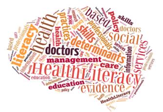 Health literacy brain cloud