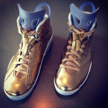 oscar edition air jordan vi gold leaf