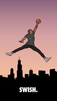 Kanye-West-x-Michael-Jordan-SWISH-Illustration-e1440738199354