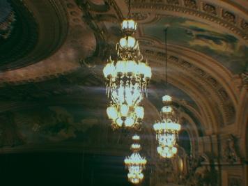 Chicago Theatre lights