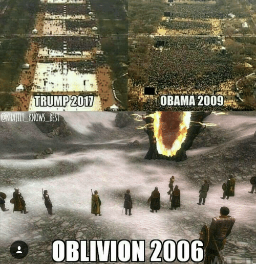 obama 2009 trump 2017 oblivion 2006 awesome skyrim oblivion memes 13297410?w=484&h=500 retrospective video game review for the elder scrolls iv oblivion